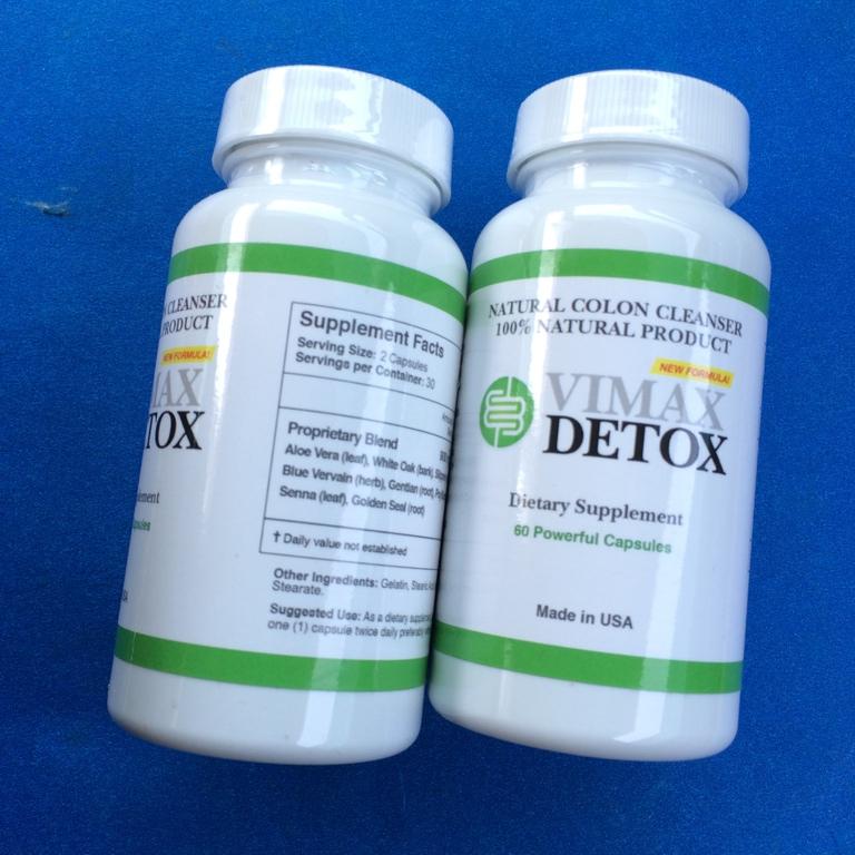 Vimax Detox Natural Colon Cleanser